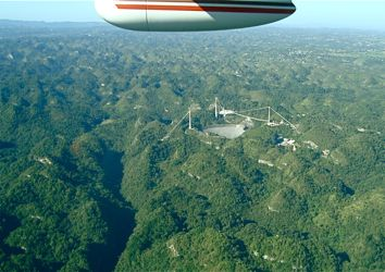 Arecibo from the air