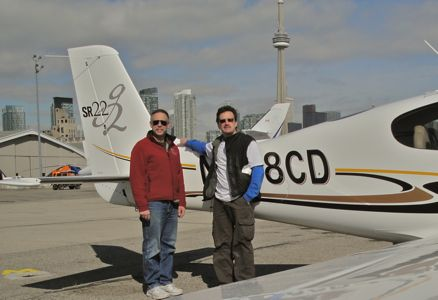 At Toronto with 768CD