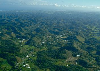 Weird Hills of Puerto Rico