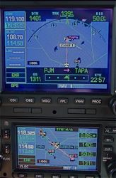 GPS over into Antigua Airspace
